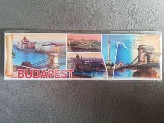 Fridge magnet Budapest