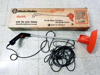Black & Decker grass trimmer