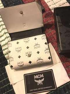 Authentic MCM Small Trifold Wallet