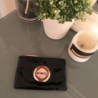 Rose gold MIMCO small pouch- scratched