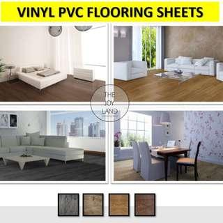 Vinyl PVC Flooring Tiles Planks Self Adhesive DIY