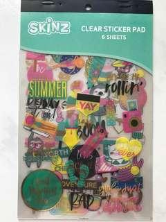 Clear Sticker Pad <Summer>