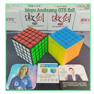 - - Moyu Aochuang GTS 5x5 for sale ! Brand New SpeedCube !