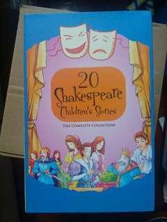 沙士比亞名箸(兒童版)20本box set 99%new