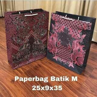PAPERBAG BATIK / PAPER BAG / TAS KERTAS / PLASTIK SOUVENIR