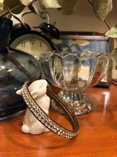 🚚 雙層水鑽 鑽飾手環