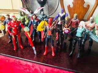 Marvels Infinity War Figures by Hasbro