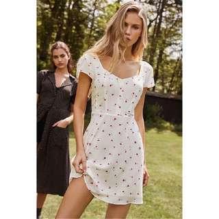 [PO] White Floral Summer Dress
