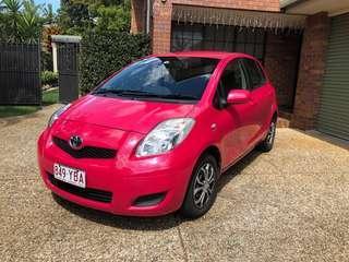 2011 Pink Toyota Yaris