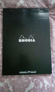 🚚 Rhodia A4 Calligraphy Practice Paper (Dotpad)
