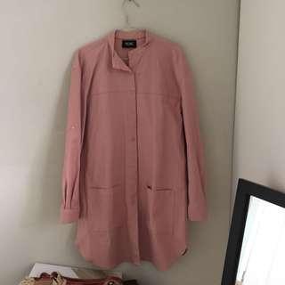 Blush Long Jacket