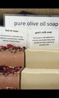 澳洲橄欖油及羊奶肥皂