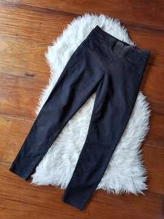 Forever21 Black High-waisted Pants