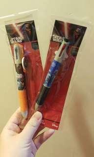 Star war 3色原子筆