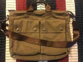 Fino Canvas Briefcase Two Way Bag