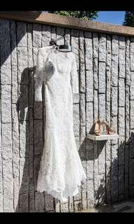 Made to order wedding gown