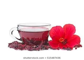 $4.50 dried rosella flower tea