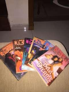 RL Stine books package (6 books)