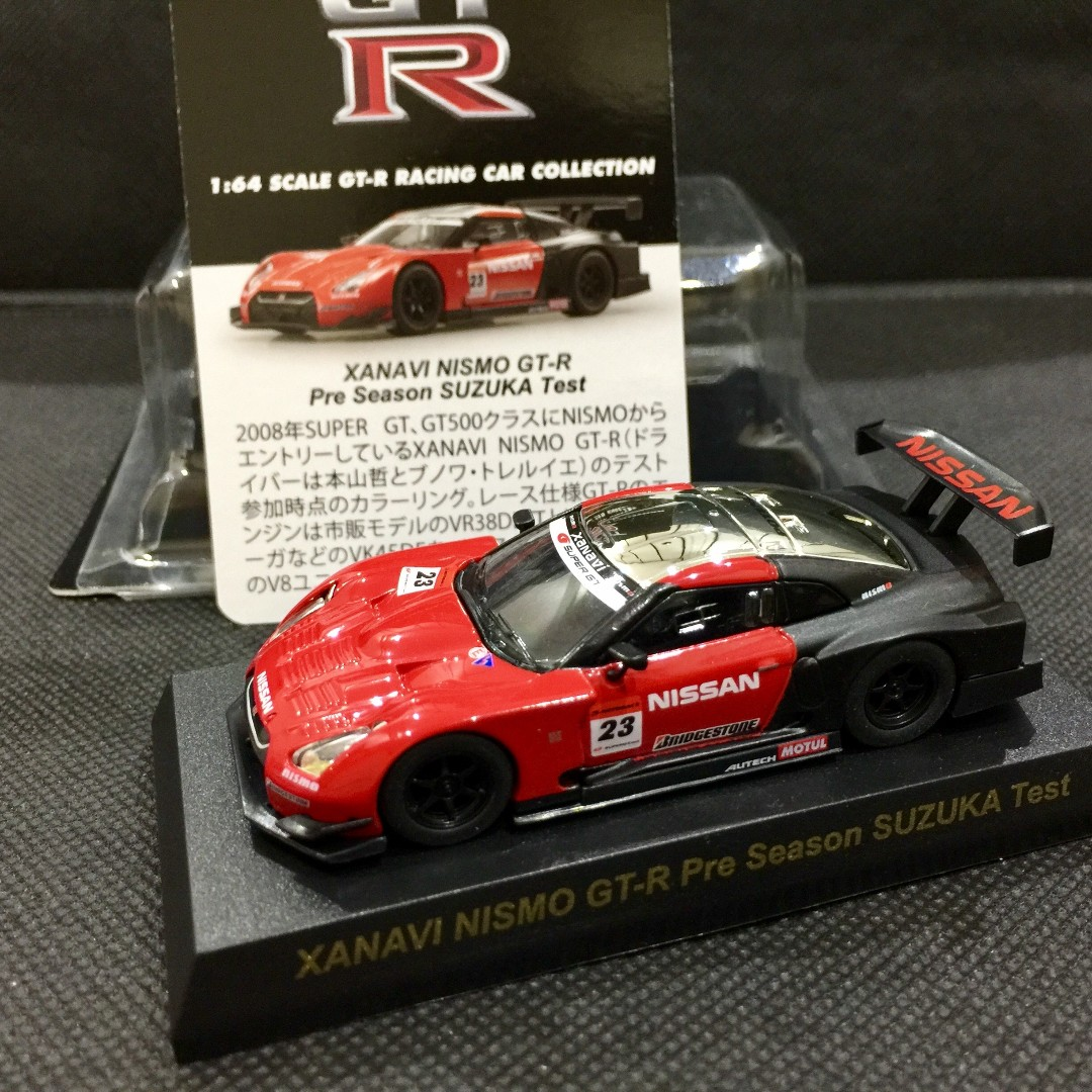 Sold1 64 Kyosho Non Tomica Xanavi Nismo Gt R Test Car Toys Games 1 Bricks Figurines On Carousell