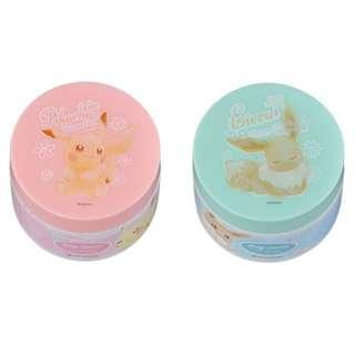 Pokemon Center Exclusive Pikachu and Eevee Cosmetic Series Body Cream Pikachu / Eevee jewel (Pre-Order)