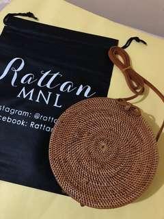 On hand! 20cm Classic Rattan Bag ~ Ribbon lock 🌼
