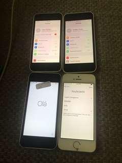 iPhone 5C & 5S icloud locked