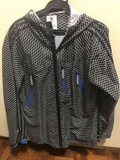 Adidas Rain coat parka windbreaker jacket