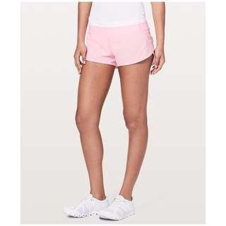"🚚 NWT Lululemon Speed Up Short 2.5"" Size 8 (Miami Pink)"