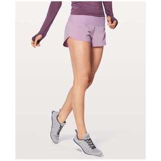 "🚚 NWT Lululemon Speed Up Short 2.5"" Size 8 (Lilac Quartz)"