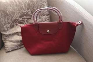 Red Bag with Strap