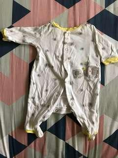 Newborn Carter's sleepsuit