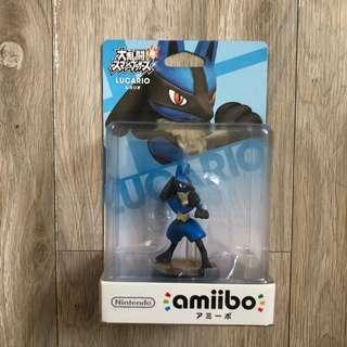 🚚 Switch amiibo 大亂鬥系列 路卡利歐 LUCARIO 寶可夢 神奇寶貝 Wii U