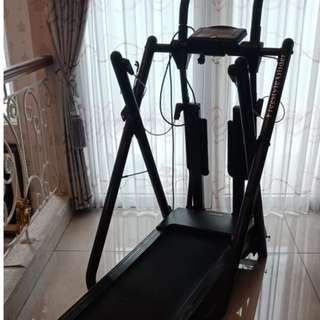 Alat Olahraga Treadmill Freestyle Glider Double Feature Motorized