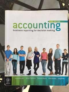 Accounting business reporting for decision making 3rd edition