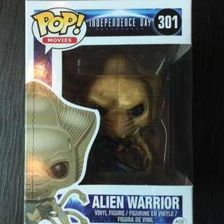 Funko Pop 301 - Alien Warrior (Independence Day)