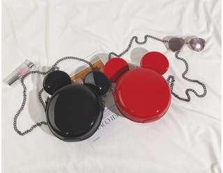 [PO] Mickey bag- red and black!