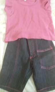 Set t-shirt & pant
