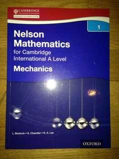 A-levels mechanic textbook
