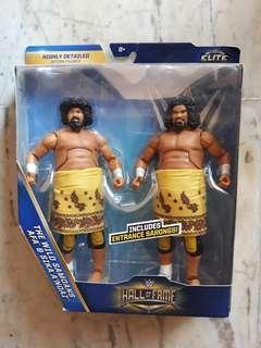 WWE Hall of Fame Elite - The Wild Samoans AFA & Sika A'noai