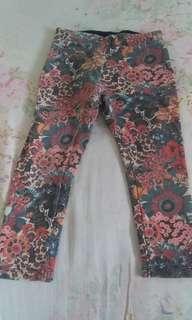 Flower pant Zara