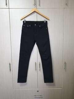 Preloved Levi's 510 Black Skinny Jeans