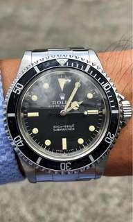 Rolex 5513 Submariner, Meter First!