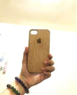 🚚 Iphone7 櫻桃木質感手機殼