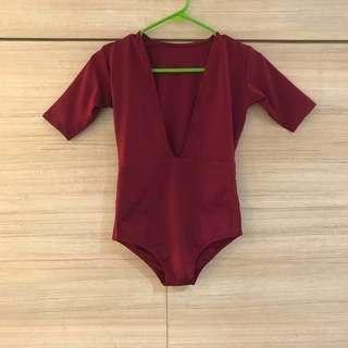 🔥 Float Swimwear - Linda in Color Wine - Size XS