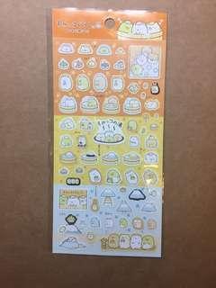 (包平郵)日本角落生物貼紙made in Japan stickers san-x