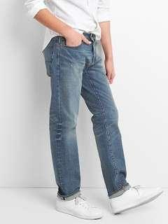 GAP Man straight fit jeans