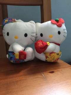Vintage Hello Kitty Plush Toy (McDonalds Thailand Happy Meal toy)