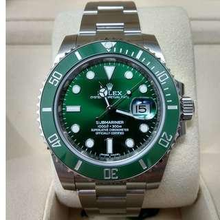 "Rolex Submariner Date ""Hulk"" - 116610LV"