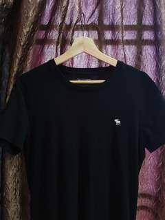 Black Abercrombie and Fitch T shirt
