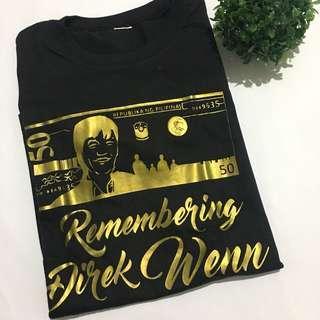 Memorabilia tshirt of the late blockbuster director